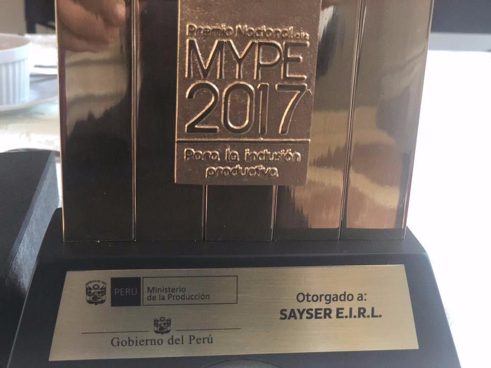 Premio Nacional MYPE 2017